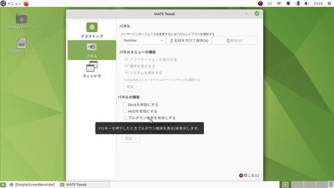 Linuxデスクトップをハデハデにしていく〜3Dデスクトップ・炎の効果等〜UbuntuMateを使用