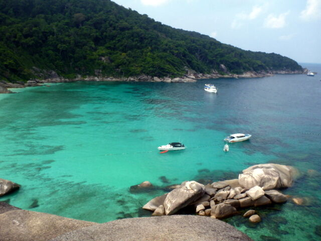 Bound for Similan, Surin, Andaman Sea, Thailand, Dive Cruise、2013 March : Dive Reco - ダイビングの記憶