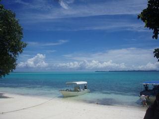 碧い海と青い空 (320)