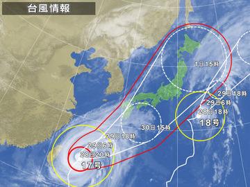 台風情報201120928-4 100260-EISPC