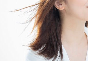 髪の毛がキレイ