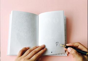 ノートに書いてあった