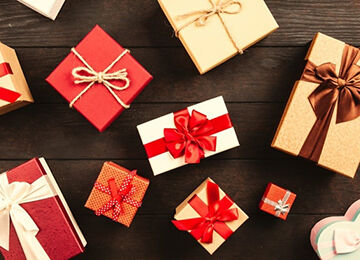 プレゼントをあげた時
