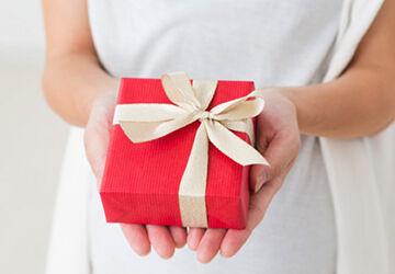 プレゼントをあげる