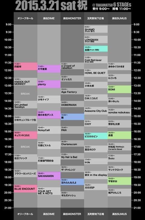timetable21