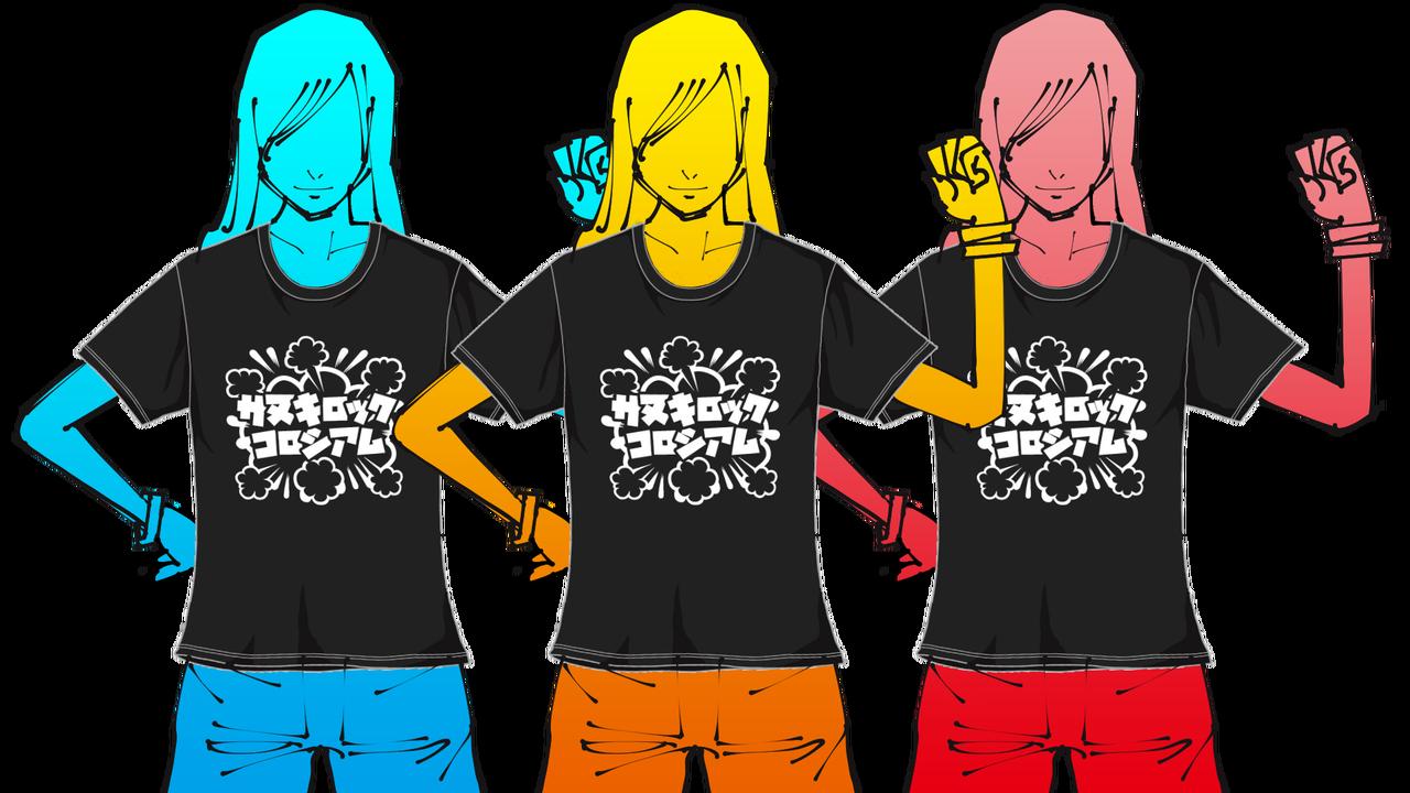オフィシャルTシャツのコピー