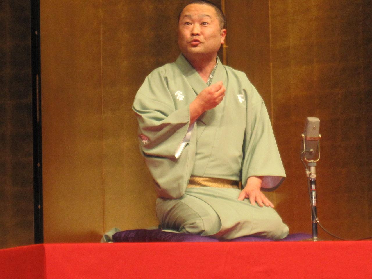 憧れのステージで落語♪ 茨城県民文化センター大ホールで落語をやるなんて生涯二度とないと思います.