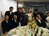 濱田くんの結婚披露宴