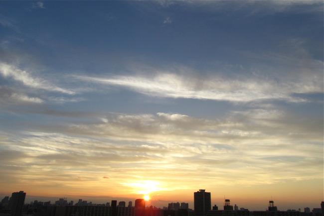 黄昏いびつな地平線