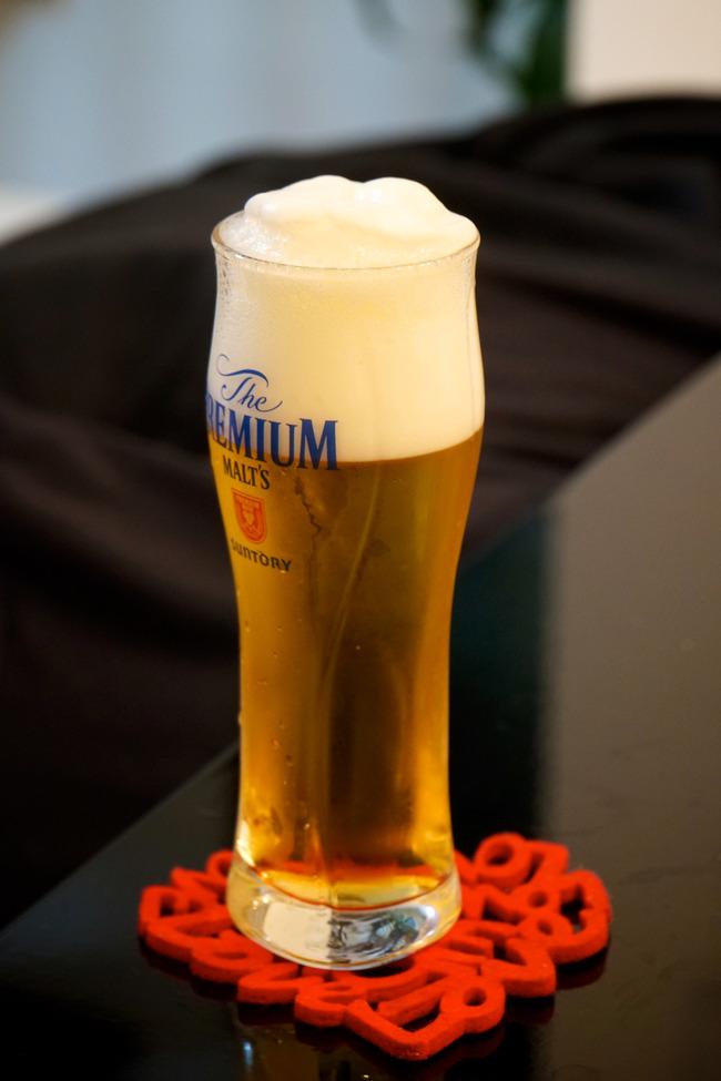 ビールで治療感とか