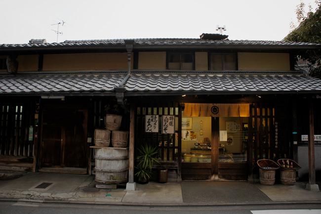 御土居と鷹峯街道の老舗醤油とか:関西旅行記 8/13