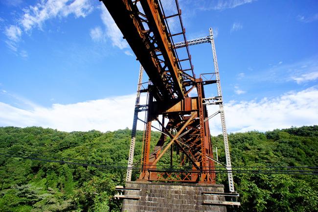 旧立場川橋梁と廃線跡とか:夏の信州旅 5/x