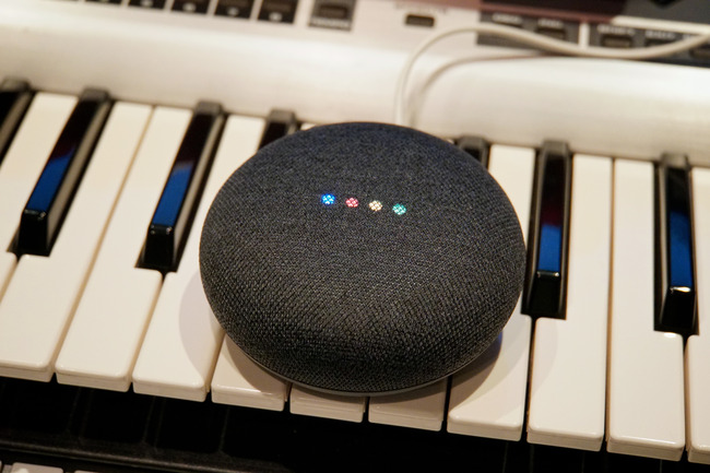Google Home Miniとか