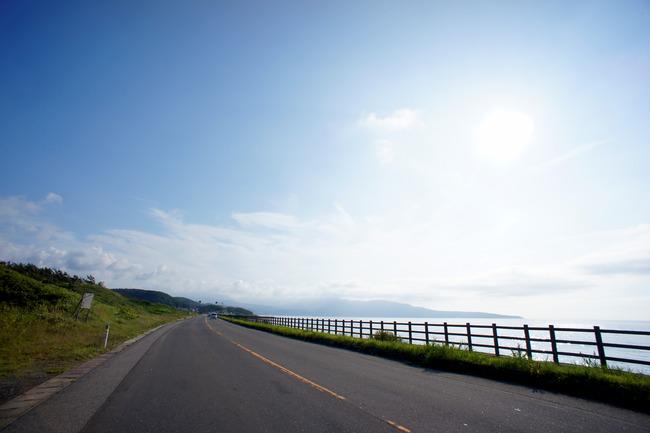鰺ヶ沢のアイドルと日本海の景色とか:青森津軽旅行記 7/14