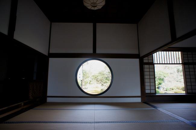 鷹峯の朝と源光庵とか:関西旅行記 4/13