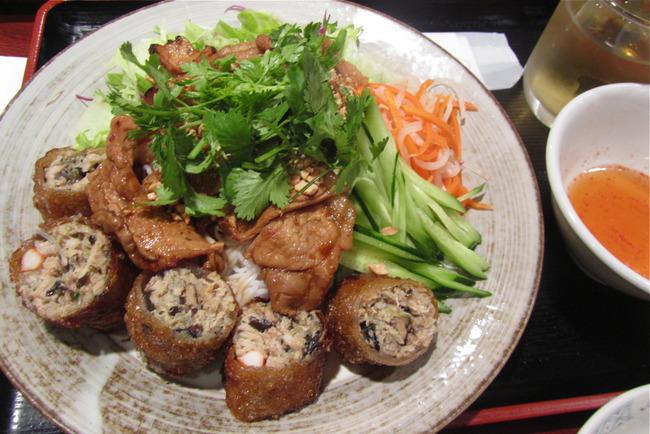 ベトナム料理と銀ブラとか