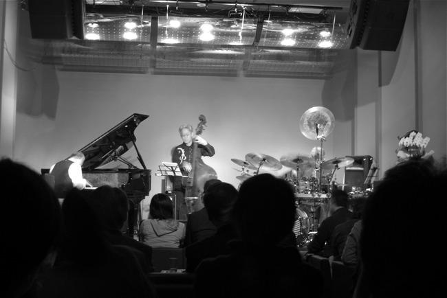 PONTAさんトリオ、Jazz Liveに
