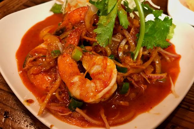 タイ料理でラララとか