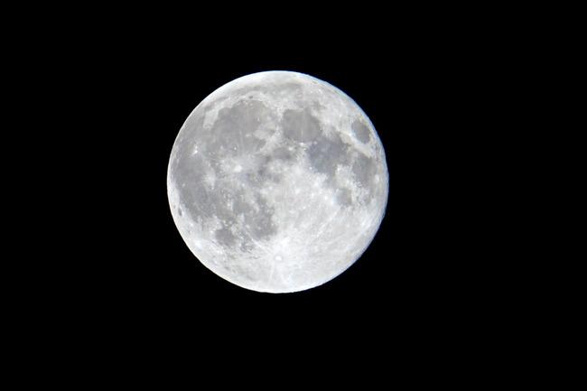 2019はじめての満月とか