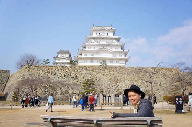 春色の姫路城とか:関西旅行記 10/x