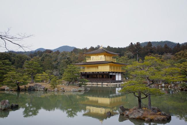 鹿苑寺金閣と阿闍梨餅とか:関西旅行記 5/13