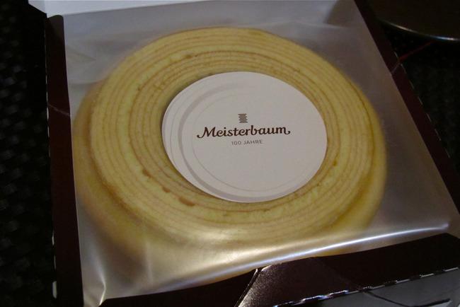 ユーハイムのマイスターバウム