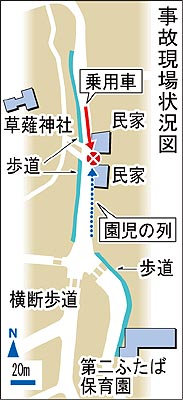 路側帯を歩いていた理由にも疑問---静岡の交通事故 : TTWWTP別館 ...