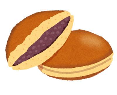free-illustration-sweets-dorayaki-irasutoya