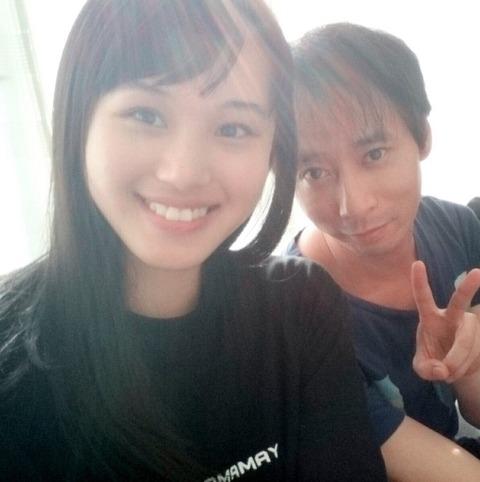【42歳と19歳のカップル】いしだ壱成と彼女の2ショットがヤバすぎて草www(*画像あり)