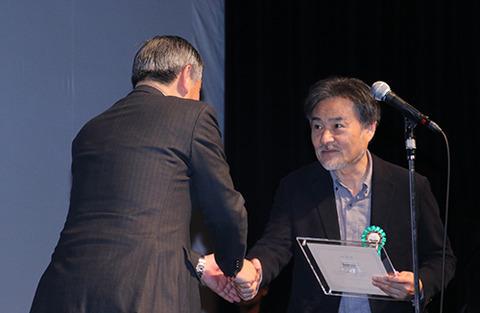第9回TAMA映画賞授賞式_黒沢清監督01