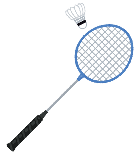 sports_badminton_racket_shuttlecock