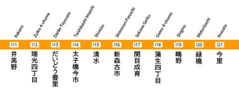 今里筋線_Subway_Imazatosuji_Line
