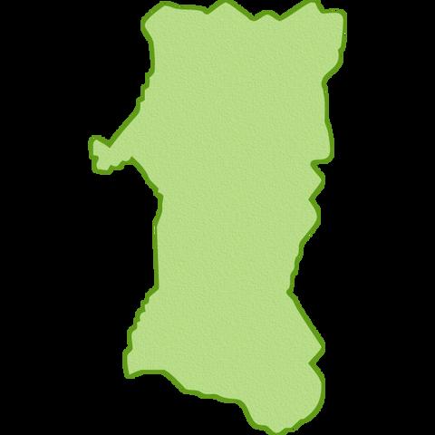map-akita