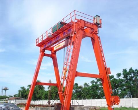 cổng trục dầm đôi 2 tấn
