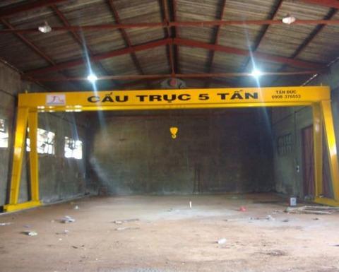 cổng trục dầm đôi 5 tấn