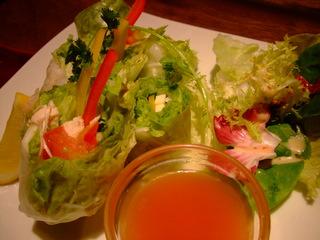 ゴイクン(生春巻きサラダ)