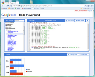 Google AJAX APIs Playground