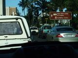 ダーバン市内・車窓から・その2