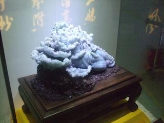 翡翠の彫刻