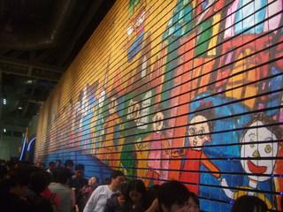 壁の絵が変わります。