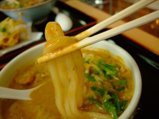 カレーうどん/麺アップ
