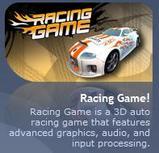 レーシングゲームのアイコン