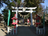 飯玉神社の石鳥居
