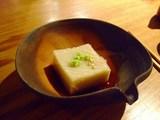 そば岡部・ごま豆腐