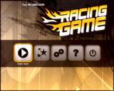 レーシングゲーム・タイトル画面