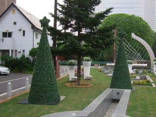 ハープの泉・クリスマスツリーが増えた?