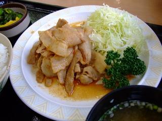 生姜焼き定食�