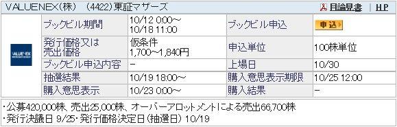 IPO-74-4422-仮 VALUENEX