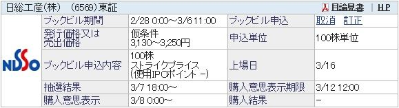 【IPO】日総工産[6569]&フェイスネットワーク[3489]抽選結果/岡三オンライン証券口座開設完了!