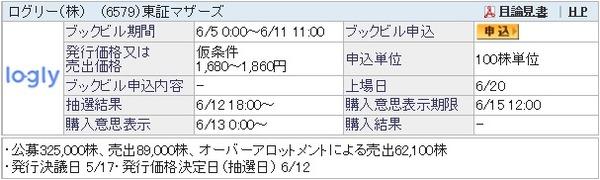 IPO-27-6579-仮 ログリー